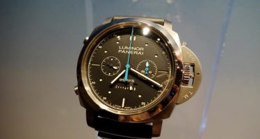 panerai luminor 1950 rattrapante 8 days titanio replique montres