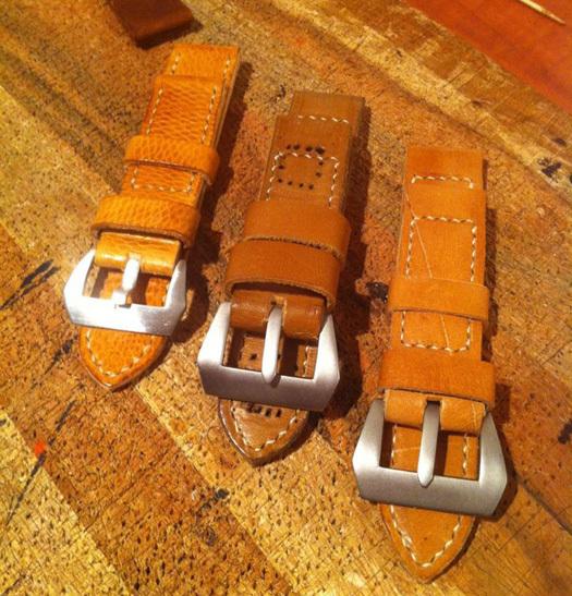D Strap : des bracelets-montres solides et robustes entièrement réalisés sur-mesure et à la main