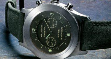 Le chronographe selon Panerai...