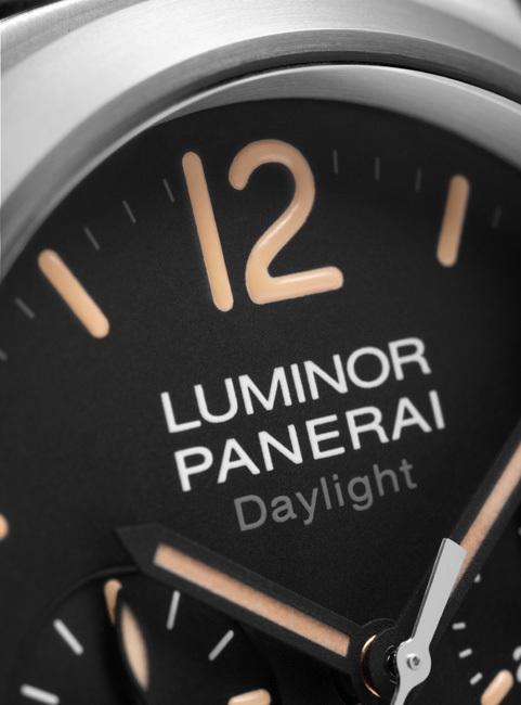 Officine Panerai Luminor Chrono Daylight – 44 mm : une sportive très vintage