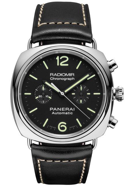 Panerai Radiomir Chronograph 42 mm PAM 369 : élégant chrono deux compteurs