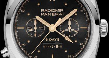 Panerai Radiomir 1940 Chrono Monopulsante 8 jours GMT : beau duo de chronos
